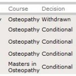 Osteopathy as a Career: applying for the course